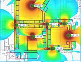 wifi floor plan wireless WAP POE+